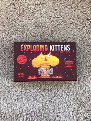 Exploding Kittens - Party Pack for Sale in Chicago, IL