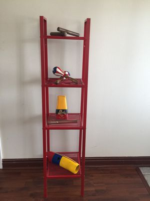Contemporary Red Shelved can be used for book stand for Sale in Orlando, FL
