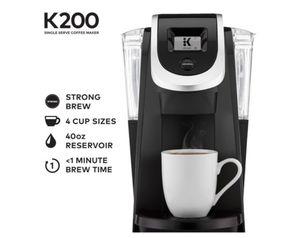 Keurig - K200 Single-Serve K-Cup Pod Coffee Maker - Matte Black for Sale in Decatur, GA