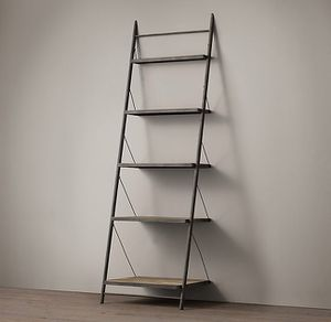 Restoration Hardware Reclaimed Elm & Iron Metal Shelving for Sale in Chicago, IL