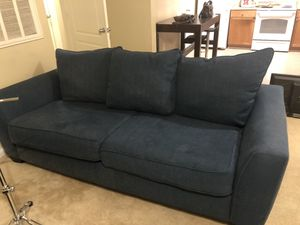 IKEA blue couch for Sale in Raleigh, NC