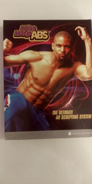 BEACHBODY- NEVER USED/ SHAUN T'S HIP HOP ABS (2 DVD SET) for Sale in Northwest Plaza, MO