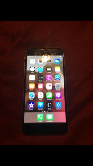 iPhone 6plus space grey for Sale in Roseville, MI