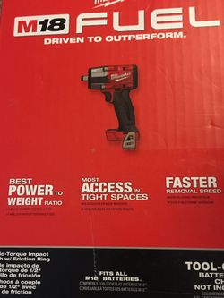 M18 1/2 Mid torque Impact Wrench for Sale in Boise,  ID