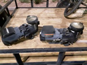 Pool pumps untested got from U-Haul Storage purchase for Sale in Mesa, AZ