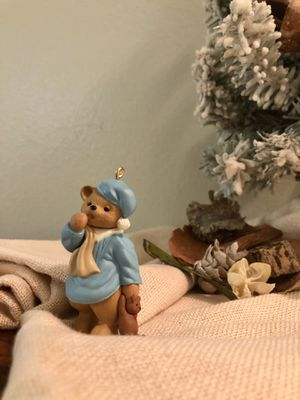 Vintage Waiting Up For Santa Hallmark Keepsake Christmas Ornament for Sale in Seminole, FL