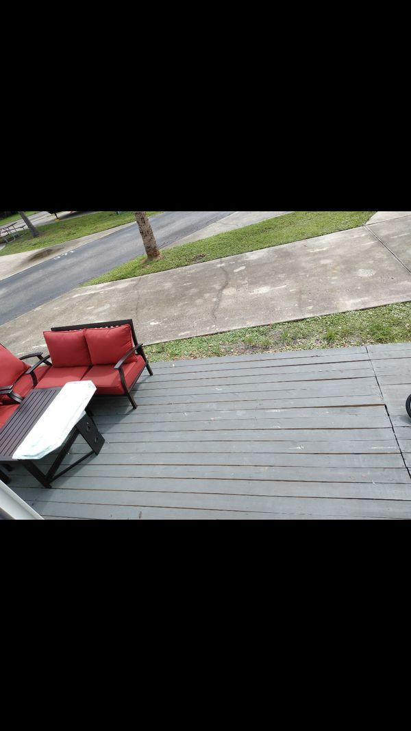 Decks/patio furniture