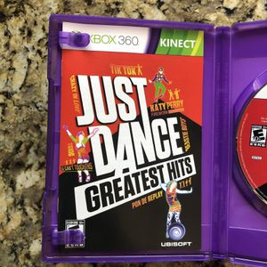 Just Dance Greatest Hits XBox 360 Video Game for Sale in Miami, FL