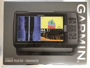 Brand New Garmin fish finder/sonar with transducer for Sale in Tinley Park, IL