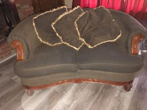 Sofa set with pillows for Sale in Beaumont, CA