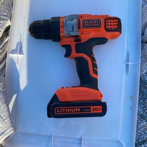Black And Decker Lithium Drill for Sale in Fremont, CA