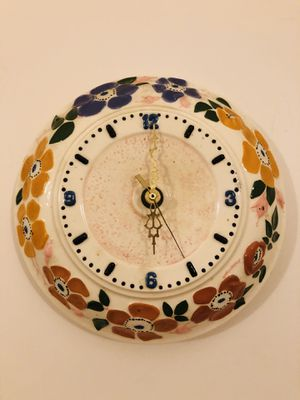 Antique beautiful Porcelain Wall Clock for Sale in Feasterville-Trevose, PA