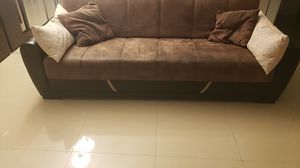 Couch/fold out bed for Sale in Hallandale Beach, FL