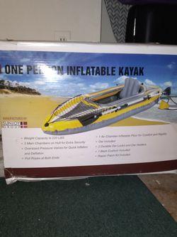 NEW Single Inflatable Kayak for Sale in Woodbridge,  VA
