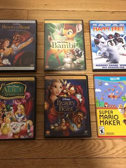 Disney Movies and Nintendo Wii Game for Sale in Yonkers,  NY