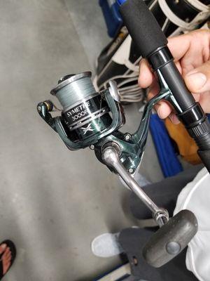 Custom seeker spinning fishing combo for Sale in Anaheim, CA