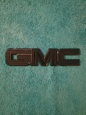 GMC Tailgate Emblem ( OEM ) for Sale in Houston, TX