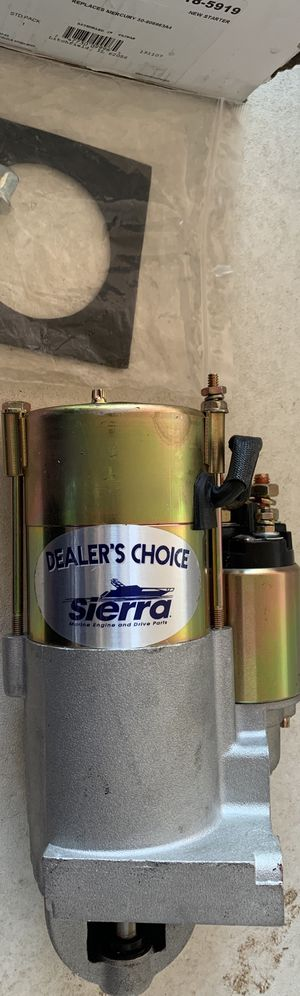 Brand New Starter for Boat/Marine Engine for Sale in Houston Farms, TX