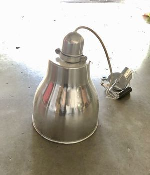 Silver, chrome light. Pendant light, kitchen light, dinning light for Sale in Davie, FL