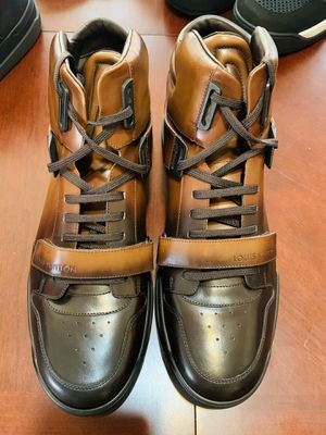Louis Vuitton Trailblazer Sneakers (Brown) Mens Sz LV 12/USA 13 for Sale in Milwaukee, WI