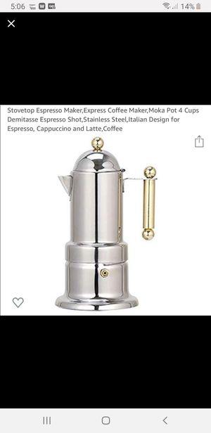VEV Vigano 4-Cup Espresso Maker for Sale in Beaverton, OR