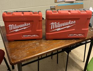 Milwaukee m12 cases for Sale in Park Ridge, IL