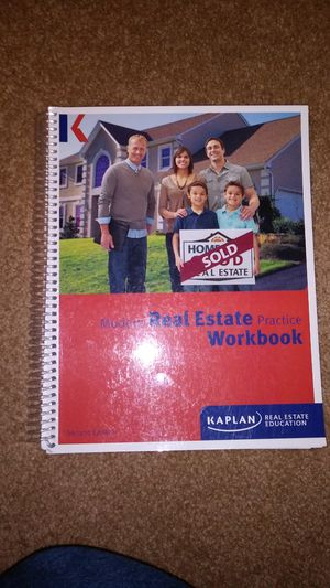 an. Texas Modern Real Estate Practice Workbook, 2014 edition for Sale in DeSoto, TX
