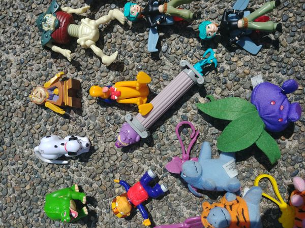 90s Happy Meal Toys