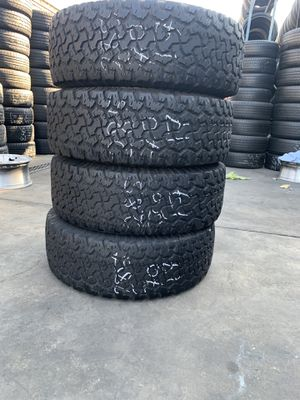 SET OF FOUR LT28570R17 BFGOODRICH KO2 TIRES for Sale in Visalia, CA