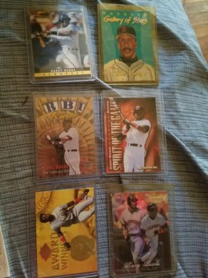 6 Barry Bonds Baseball Cards for Sale in Gallatin, TN