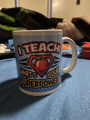 Teacher mug for Sale in Perris, CA