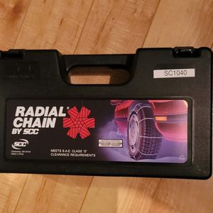 Snow Chains/Radial Chains SC1040. NEVER USED! for Sale in Renton, WA