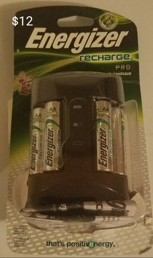 Energizer battery charger Bluetooth speaker wireless bluetooth earbuds bluetooth earbuds motion sensor light for Sale in Sioux City, IA