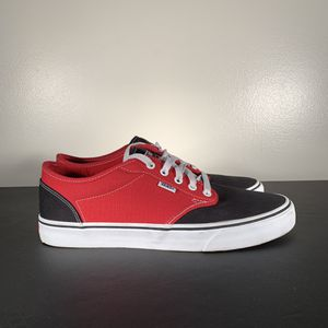 VANS Classic Low Top Red/Black Skate Shoes for Sale in Philadelphia, PA