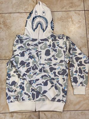 White space bape hoodie XL L for Sale in Glendale, CA