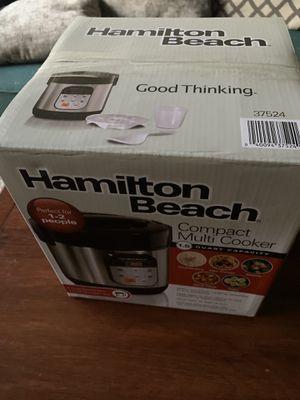 Hamilton Beach- Compact multi cooker for Sale in Palm Beach Gardens, FL