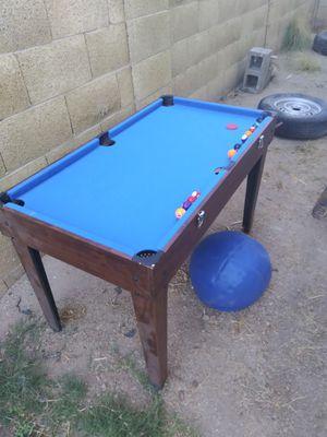 Mini airhockey/pool/foosball table for Sale in Glendale, AZ