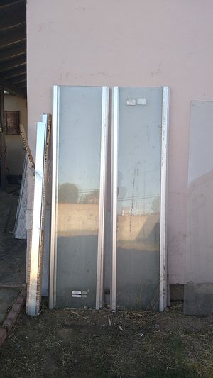Glass shower doors - MUST TAKE ALL for Sale in San Diego, CA