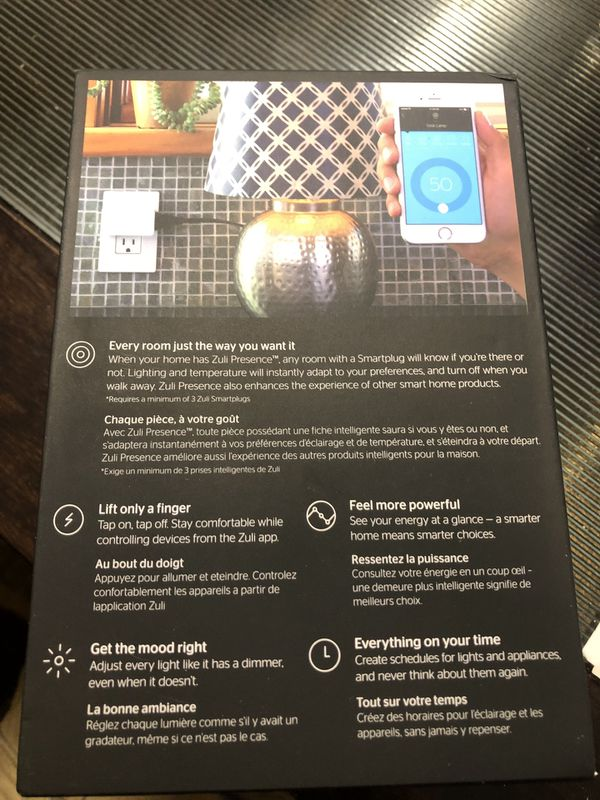 Zuli Smartplug Presence Pack (3 smartplugs)