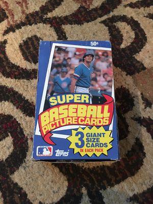 Topps 1985 Complete Set Jumbo Baseball Cards for Sale in Murfreesboro, TN