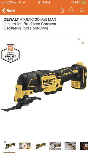 Deealt. Multi. Tool. 20 v. Brushless for Sale in Columbia, MD