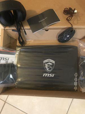 MSI Gaming Laptop new for Sale in Westlake Village, CA