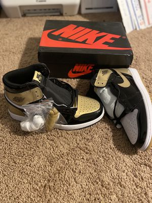 Jordan 1 Retro High Gold Top 3 size 12 for Sale in Maryland City, MD