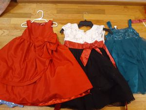 Girls Christmas and special occasion dresses size 7 for Sale in Tacoma, WA