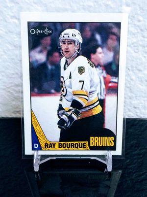 Ray Bourque 1987-88 O-Pee-Chee OPC #87 for Sale in Bullhead City, AZ