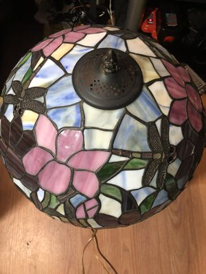 Large Tiffany style multicolor chandelier Light for Sale in Orlando, FL
