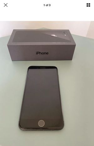 iPhone 8 Plus - 256GB - Space Grey - ATT for Sale in Boca Raton, FL