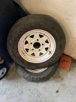 Trailer tires and wheels for Sale in Wethersfield, CT