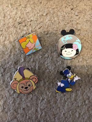 Set of 4 Disney Trading Pins $10 OBO for Sale in La Mirada, CA