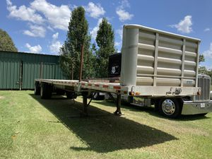 Flat bed trailer for Sale in Gilmer, TX